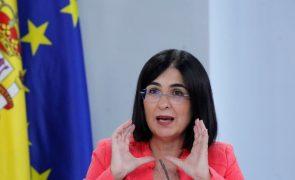 Covid-19: Incidência acumulada sobe em Espanha para 100 casos