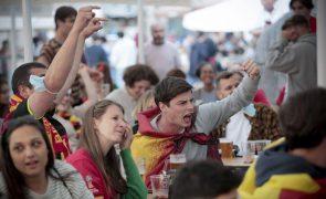 Euro2020: Bélgica-Portugal foi o jogo mais visto com audiência média de 3,8 milhões