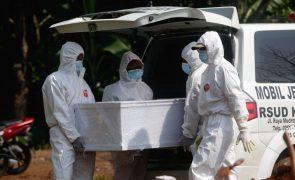 Covid-19: Novo surto na Indonésia põe em risco capacidade hospitalar - Cruz Vermelha