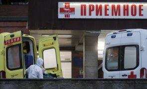 Covid-19: Rússia regista recorde de mortes diárias com 652 óbitos