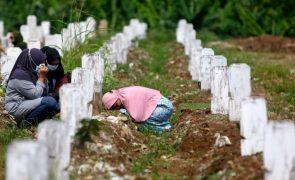 Covid-19: Pandemia matou mais de 3,93 milhões de pessoas em todo o mundo