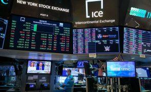 Wall Street sobe com bancos a impulsionarem os ganhos