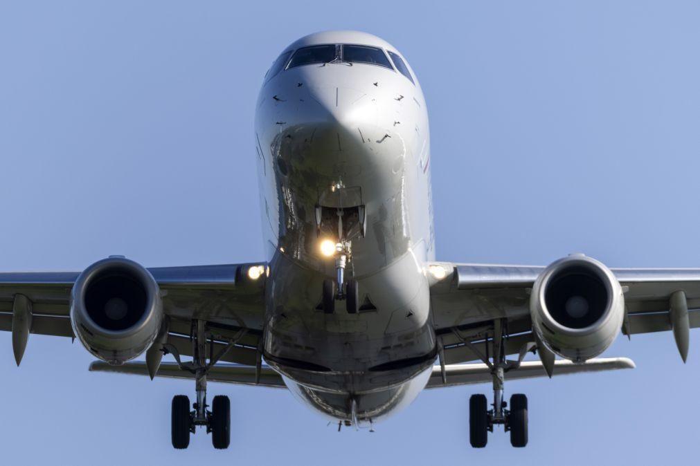 Covid-19: 40% dos 5,5 milhões de bilhetes de avião cancelados em Portugal sem reembolso