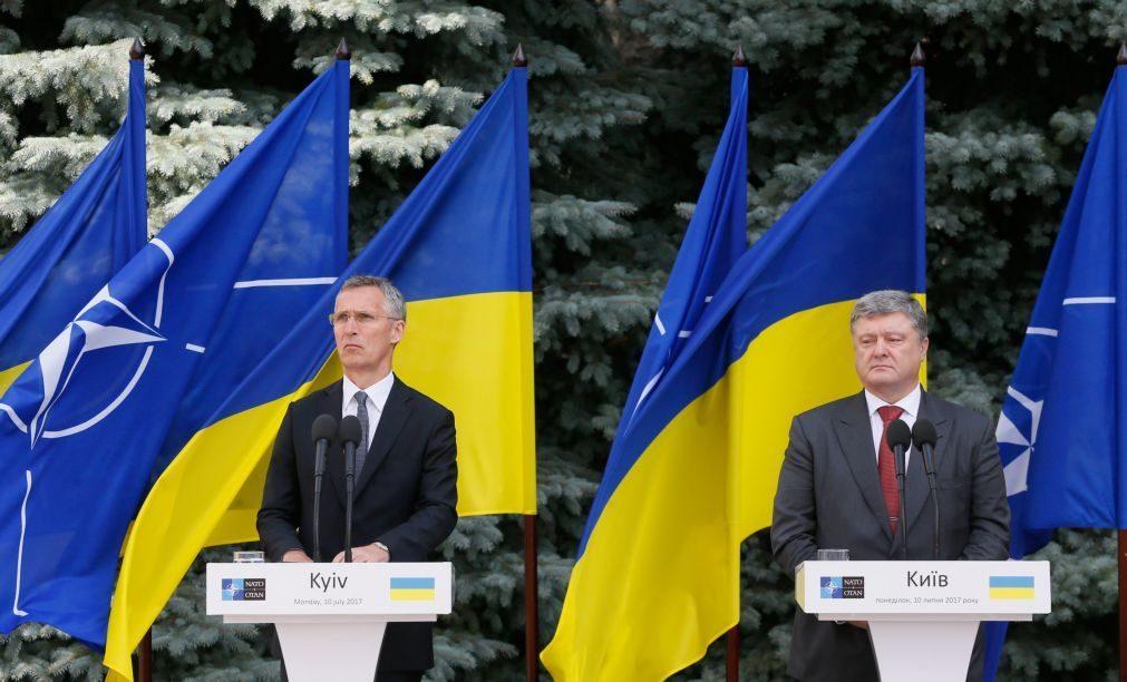 Presidente da Ucrânia diz que o conflito no seu país
