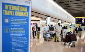 Covid-19: Reino Unido regista 23 mortes e mais de 20 mil novos casos