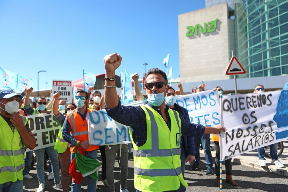 Trabalhadores da Groundforce em greve entre 15 de julho e 01 de agosto