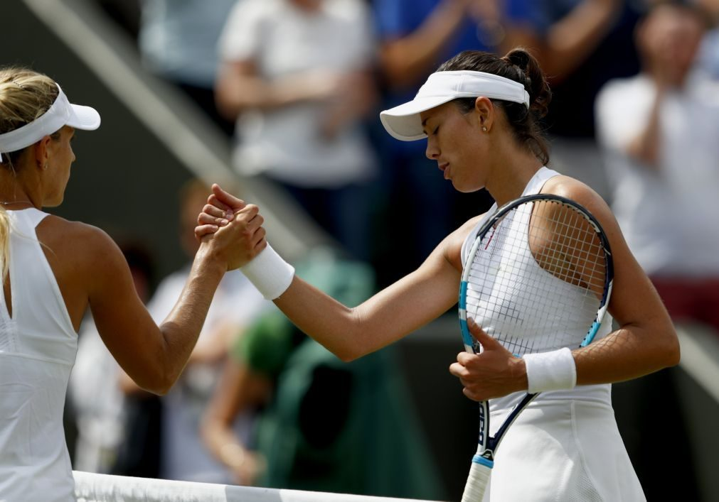 Wimbledon: Kerber perde com Muguruza e cede liderança do 'ranking' mundial