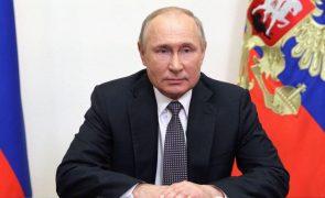 Putin acusa EUA de envolvimento em incidente militar e de controlar a Ucrânia