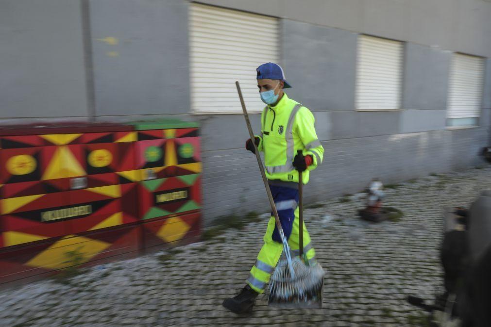 Média de idades envelhecida dos trabalhadores