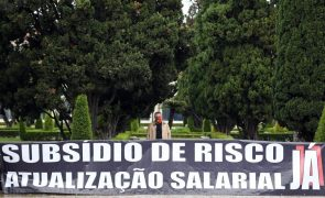 Estruturas da PSP e GNR desiludidas com valor do subsídio de risco proposto pelo Governo