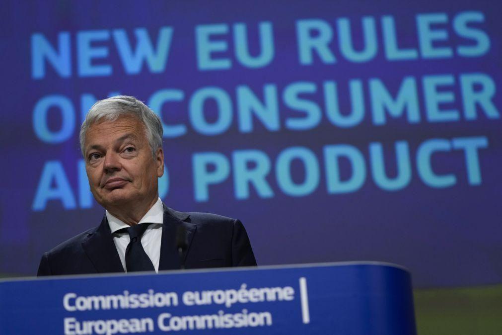 Bruxelas propõe revisão de regulamento da UE com 20 anos sobre segurança dos produtos