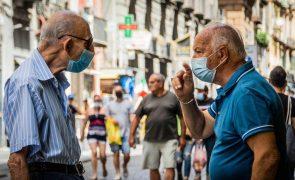 Covid-19: Itália regista 776 novos casos, com 34% da população imunizada