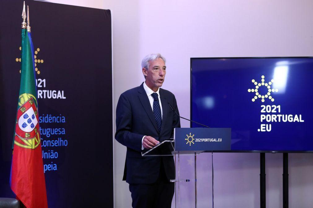 UE/Presidência: Cravinho satisfeito com presidência portuguesa, destaca missão em Moçambique