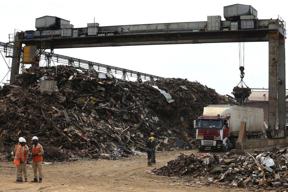 Empresa angolana de aço reinvestiu 17,6 ME em 2020 e garante alargar produção