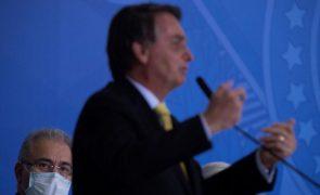 Covid-19: Bolsonaro diz que não serão
