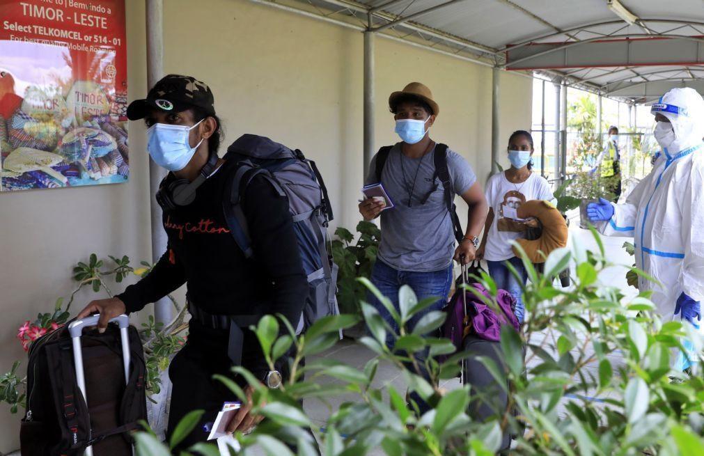 Covid-19: Timor-Leste determina quarentena para viajantes de países com variante Delta