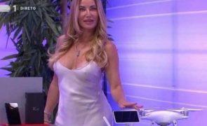 Fernanda Câncio critica roupa de assistente do