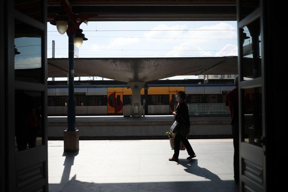 CP prevê perturbações na circulação de comboios a partir de hoje devido a greve na IP