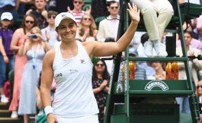 Wimbledon: Ashleigh Barty apura-se para a terceira ronda