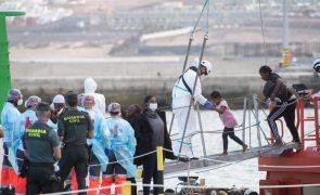 Chegada de imigrantes ilegais a Espanha subiu 57,5% no primeiro semestre