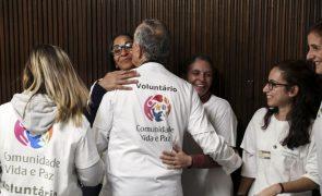 Comunidade Vida e Paz apoiou quase 500 pessoas sem-abrigo em 2020