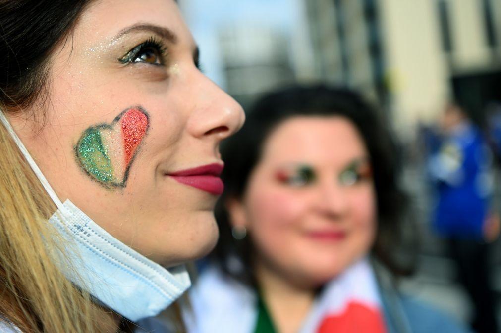 Covid-19: Número de novos casos  em Itália mantém tendência de baixa