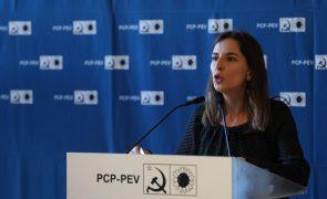 Covid-19: PCP exige ao Governo fim imediato de cortes salariais por dia de vacinação