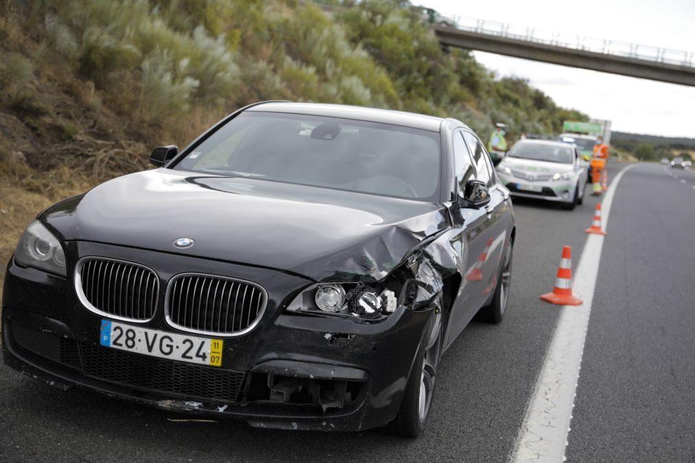 Rio diz que carro do MAI envolvido em acidente mortal não estava registado