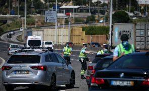 Covid-19: Proibição de entrar e sair na AMLisboa mantém-se no fim de semana - Governo