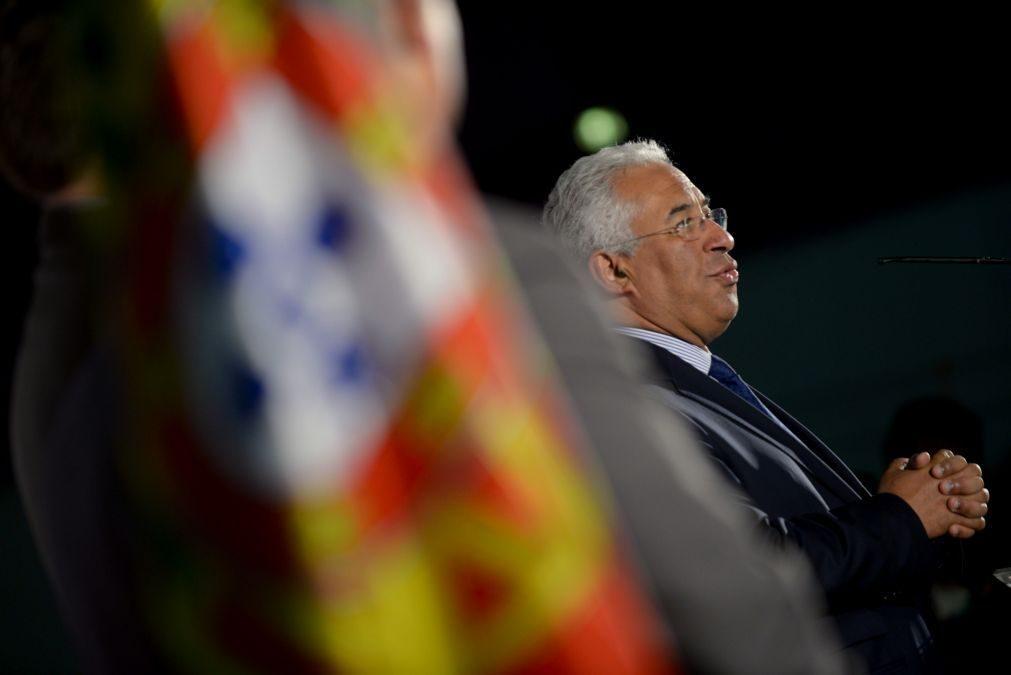 Costa convoca para terça-feira reunião sobre segurança em instalações militares