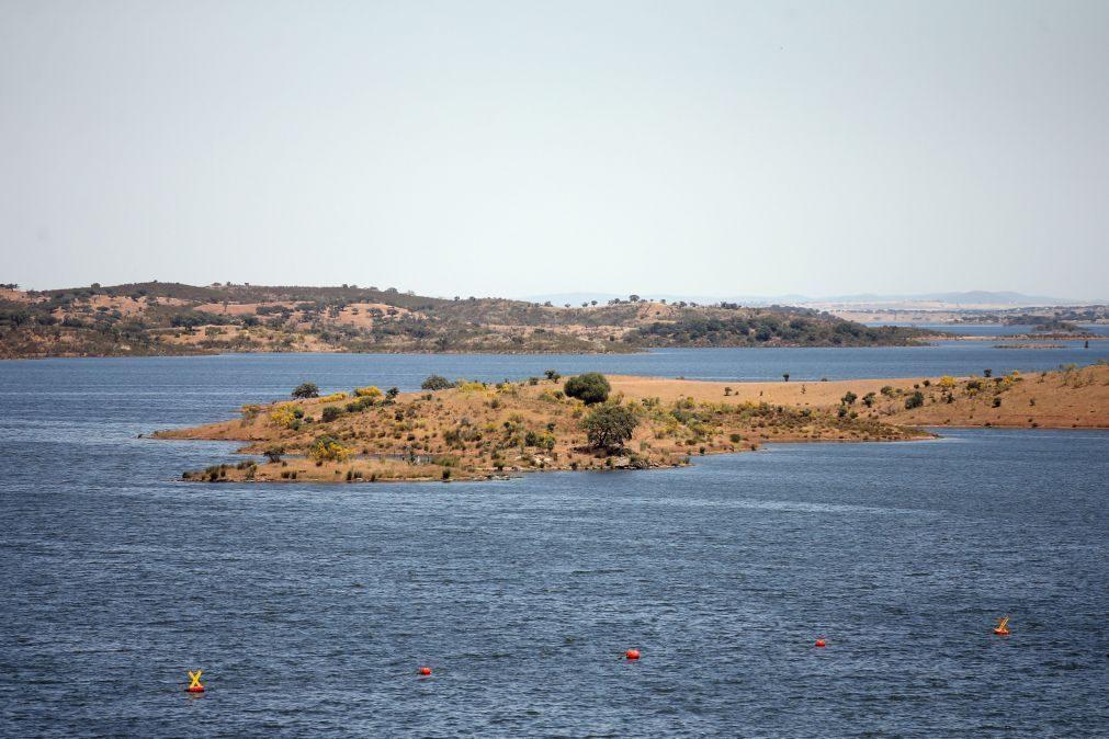 Vinte e seis albufeiras com mais de 80% de água no final de junho