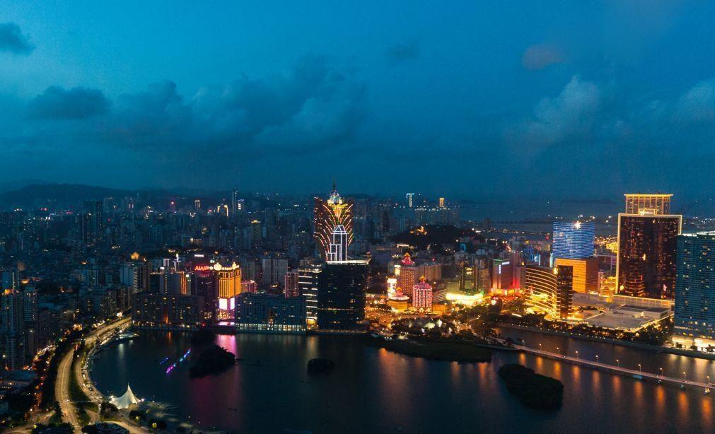 Macau reage com