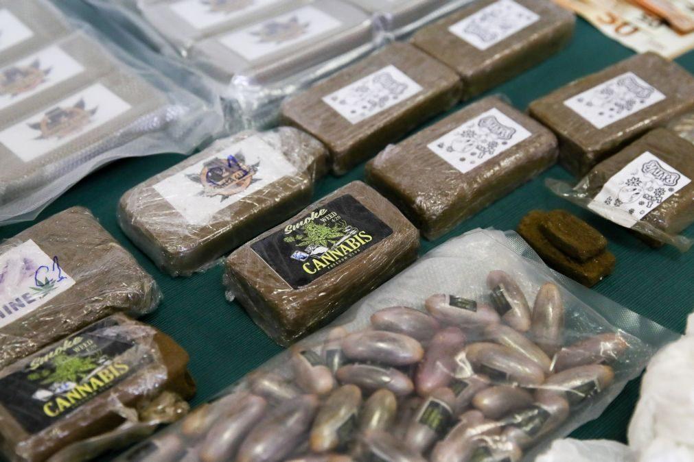Nove detidos por tráfico de droga em cinco concelhos do Oeste