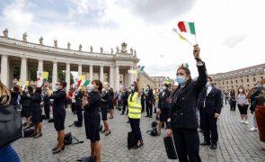Comissão Europeia aprova ajuda pública de 39,7 milhões de euros à Alitalia