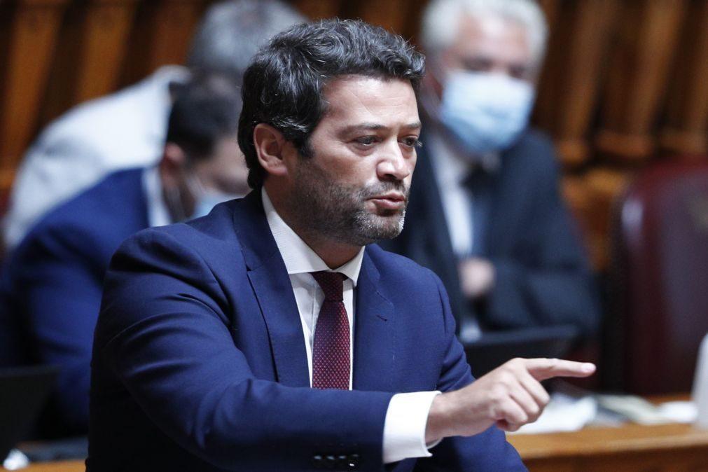 André Ventura defende