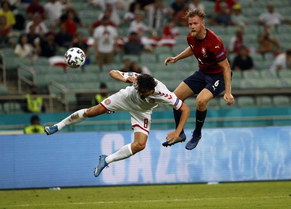 Euro2020: Dinamarca vence República Checa e apura-se para as meias-finais