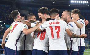 Euro2020: Inglaterra goleia Ucrânia e defronta Dinamarca nas meias-finais