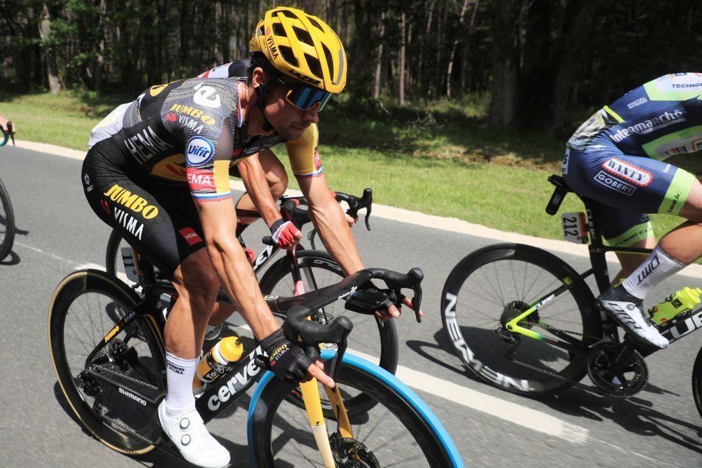 Tour: Vice-campeão Primoz Roglic desiste