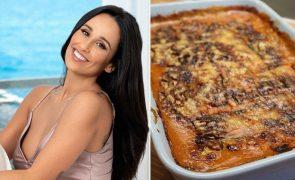 A deliciosa lasanha sem glúten de Rita Pereira [vídeo]