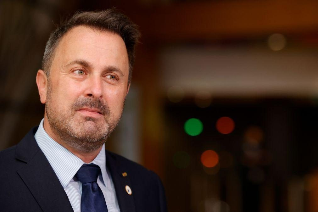 Covid-19: Primeiro-ministro do Luxemburgo hospitalizado para observação