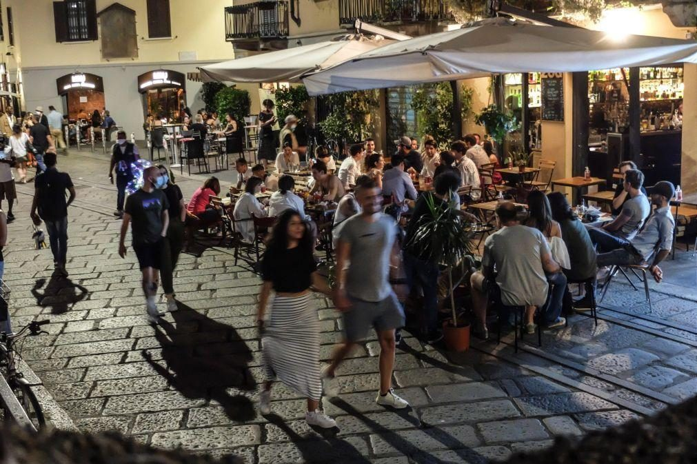 Covid-19: Itália com 12 mortos e 808 novos casos nas últimas 24 horas