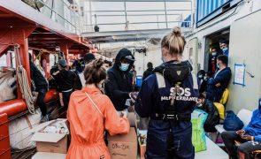 Ocean Viking socorre 203 pessoas em poucos dias no Mediterrâneo