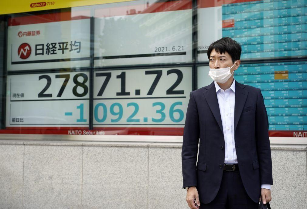 Bolsa de Tóquio fecha a perder 0,64%
