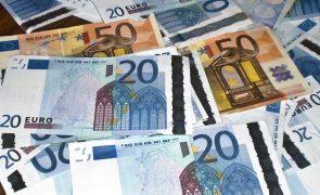Operações correntes com excedente de 102,5 mil ME na zona euro no 1.º trimestre