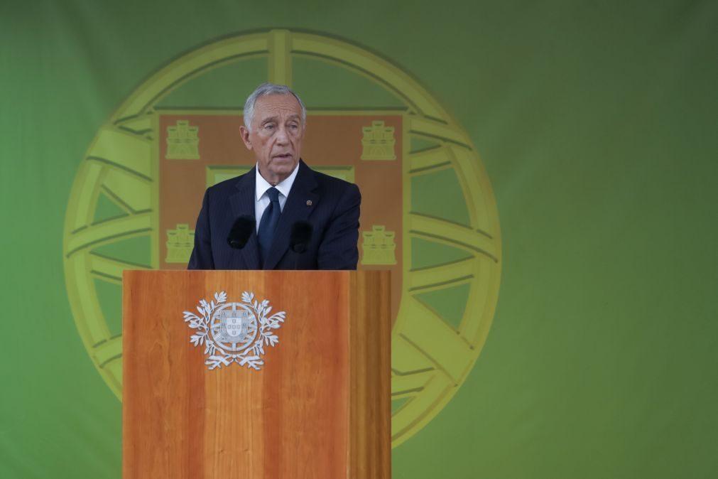 Marcelo promulga sistema eletrónico de devolução do IVA aos bombeiros e IPSS