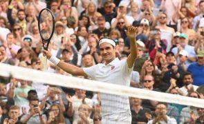 Tóquio2020: Tenista Roger Federer vai competir nos seus quintos Jogos