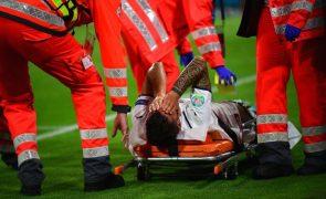 Euro2020: Leonardo Spinazzola operado ao tendão de Aquiles da perna esquerda