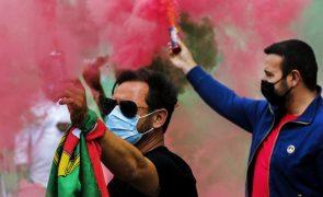 Covid-19: Empresários de diversão noturna e restauração manifestam-se em Lisboa por mais apoios