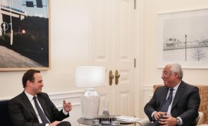 Autárquicas: Medina é candidato não para sobrevivência de líderes, diz Costa