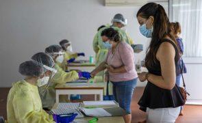 Covid-19: Primeiro dia de testagem massiva em Água de Pau com boa afluência